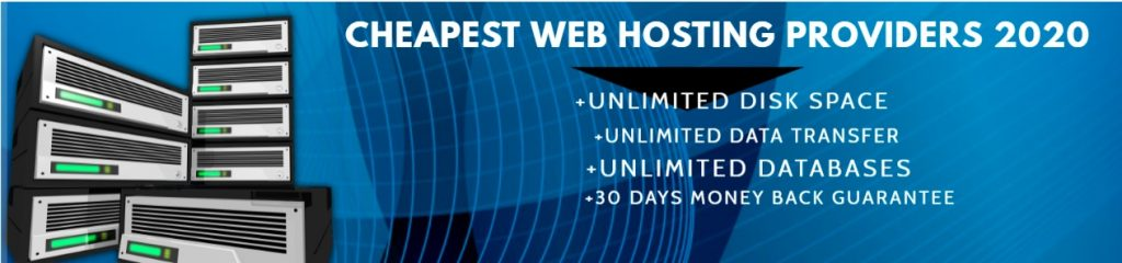 This is an image of the cheapest web hosting banner